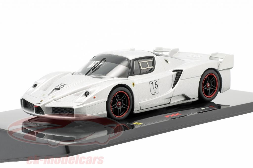 hotwheels-elite-1-43-ferrari-fxx-no16-nuerburgring-argent-n5609/