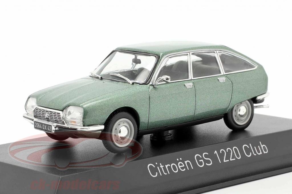 norev-1-43-citroen-gs-1200-club-anno-di-costruzione-1973-verde-metallico-158219/