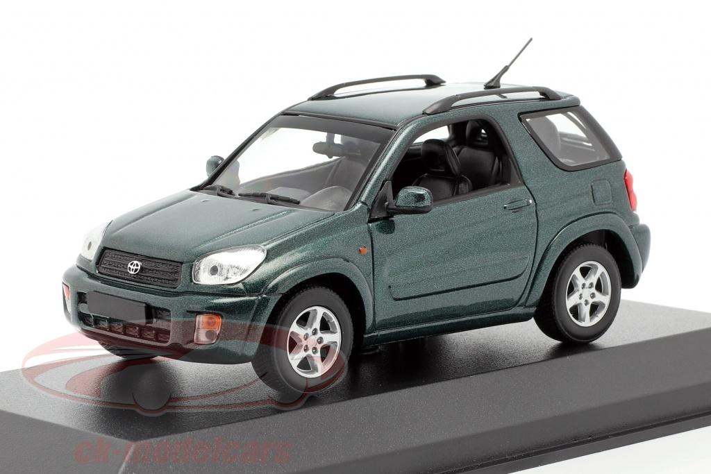 minichamps-1-43-toyota-rav4-year-2000-dark-green-metallic-940166001/