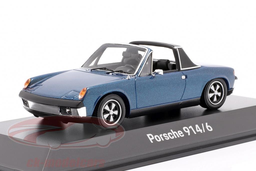 spark-1-43-porsche-914-6-annee-de-construction-1973-bleu-metallique-map02005918/