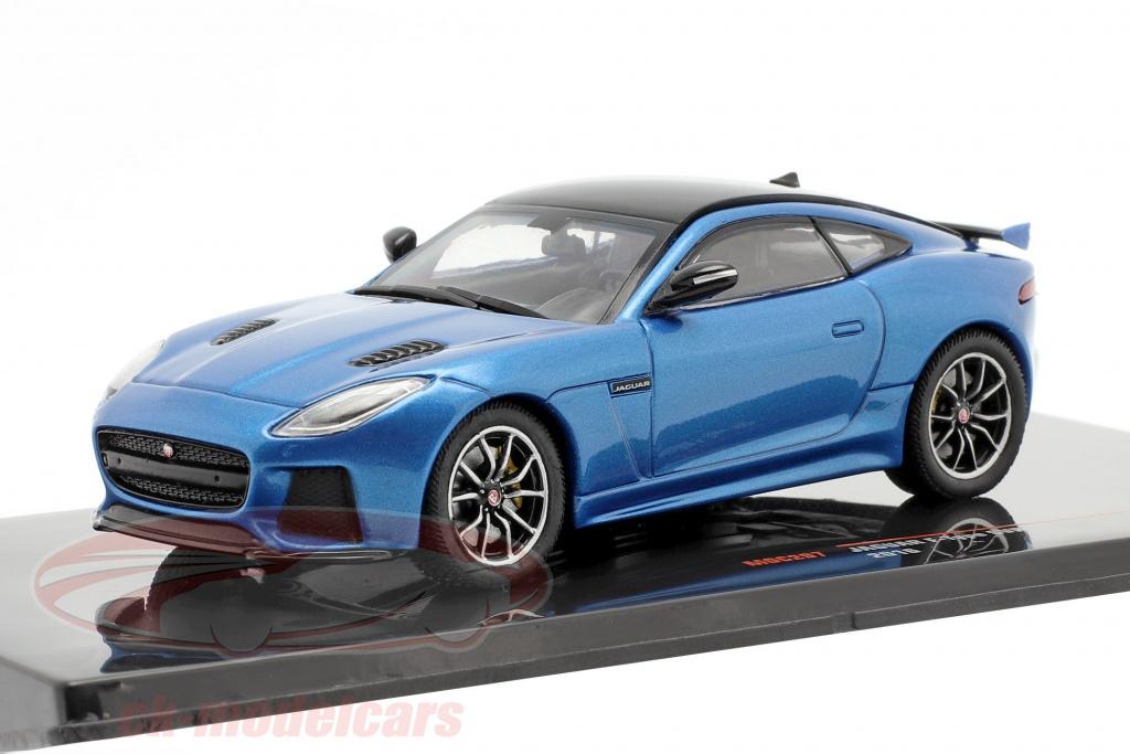 ixo-1-43-jaguar-f-type-svr-baujahr-2016-blau-metallic-schwarz-moc297/