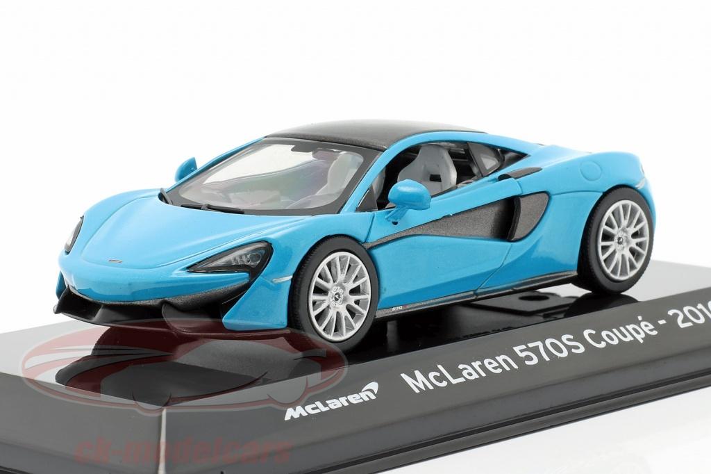 altaya-1-43-mclaren-570s-coupe-construction-year-2016-blue-metallic-black-magscml570s/