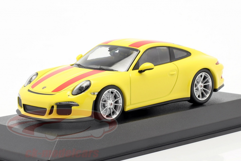 minichamps-1-43-porsche-911-r-ano-de-construcao-2019-amarelo-vermelho-940066221/