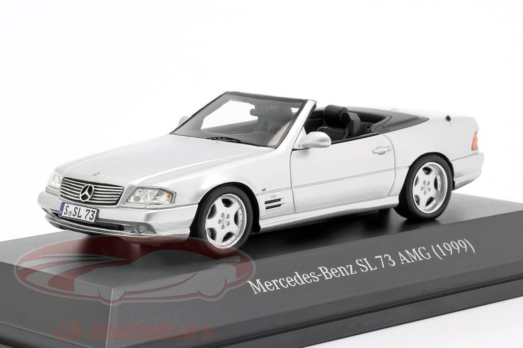spark-1-43-mercedes-benz-sl-73-amg-bygger-1999-slv-b66041045/
