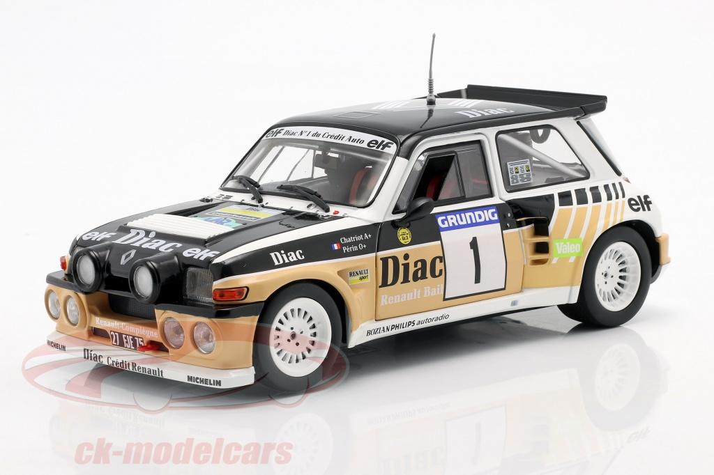 solido-1-18-renault-maxi-5-turbo-no1-ganador-rallye-du-var-1986-chatriot-perin-s1804705/
