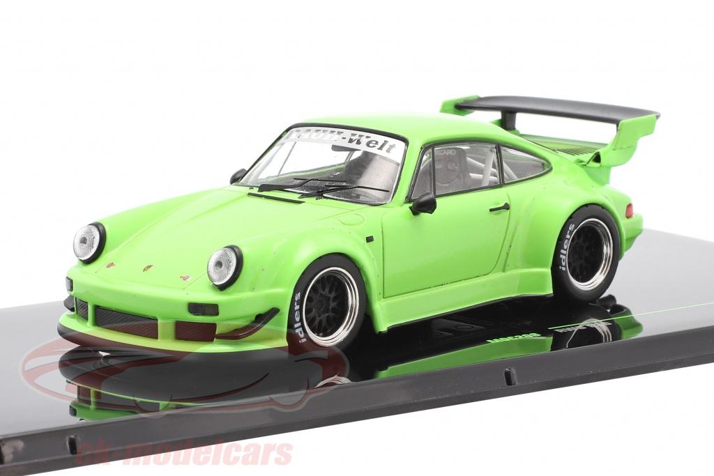 ixo-1-43-porsche-911-930-rwb-rauh-welt-brillant-vert-moc208/