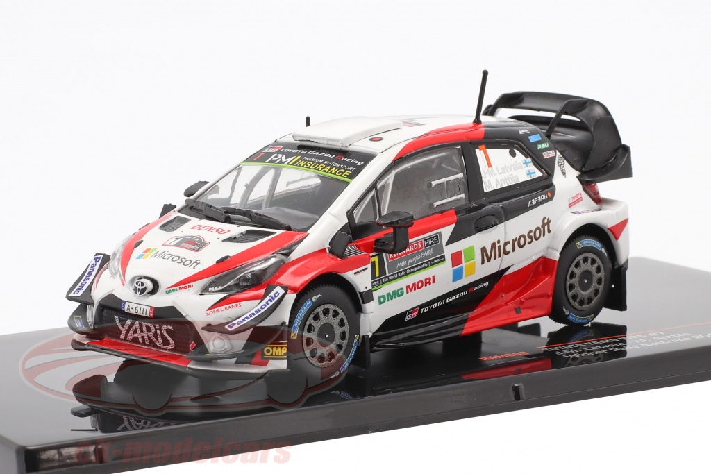 ixo-1-43-toyota-yaris-wrc-no7-winner-rally-australia-2018-latvala-anttila-ram689/