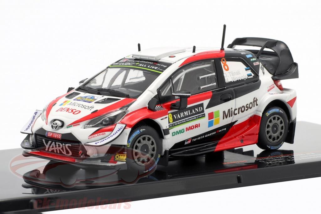 ixo-1-43-toyota-yaris-wrc-no8-winnaar-rallye-zweden-2019-tanak-jarveoja-ram704/