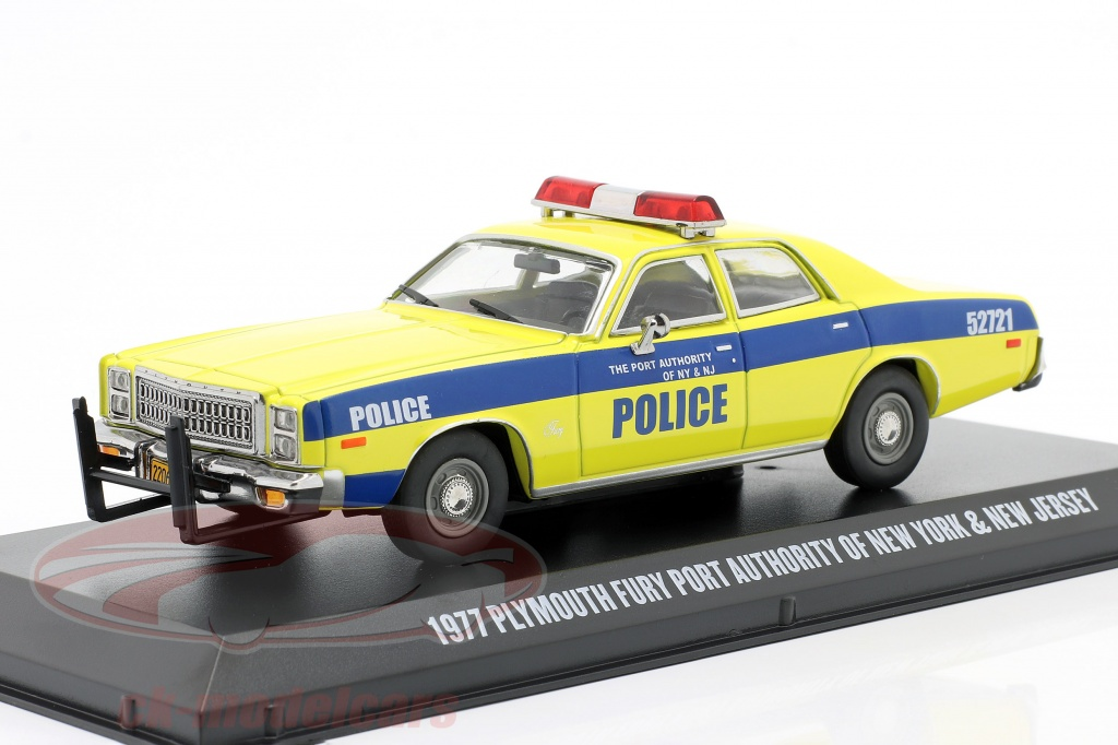 greenlight-1-43-plymouth-fury-bygger-1977-havn-myndighed-new-york-and-nj-86568/