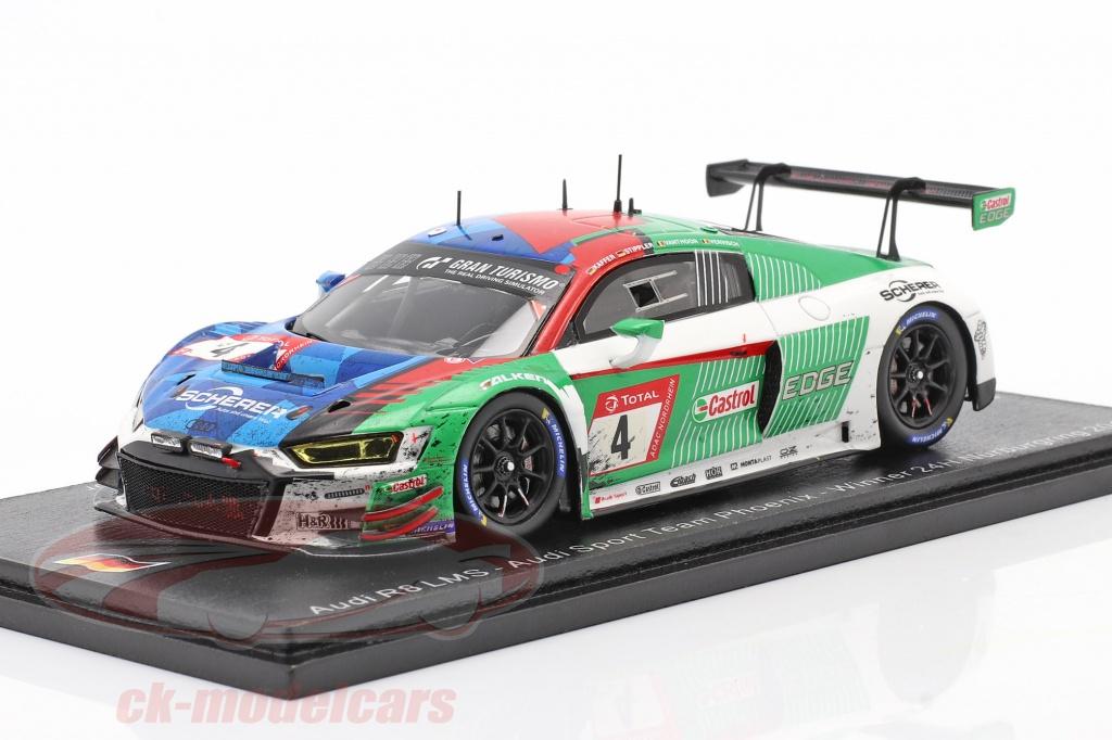 spark-1-43-audi-r8-lms-gt3-no4-winner-24h-nuerburgring-2019-dirty-version-sg520ck/