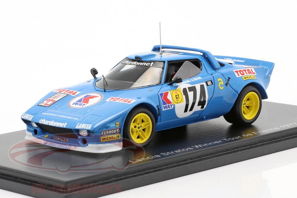 spark-1-43-lancia-stratos-hf-no174-ganador-tour-de-france-1977-darniche-mahe-s9097/