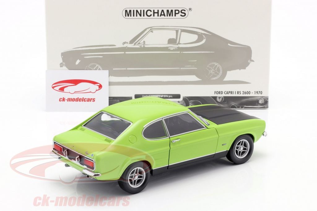 white//black Minichamps 1:18 Ford Capri RS 2600 1970