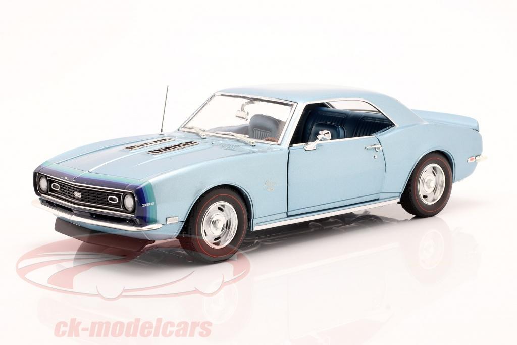 gmp-1-18-chevrolet-camaro-ss-coupe-bygger-1968-bl-1805717/