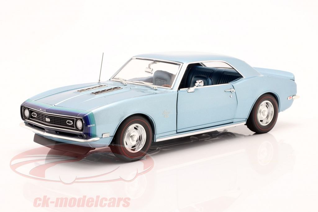 gmp-1-18-chevrolet-camaro-ss-coupe-year-1968-blue-1805717/