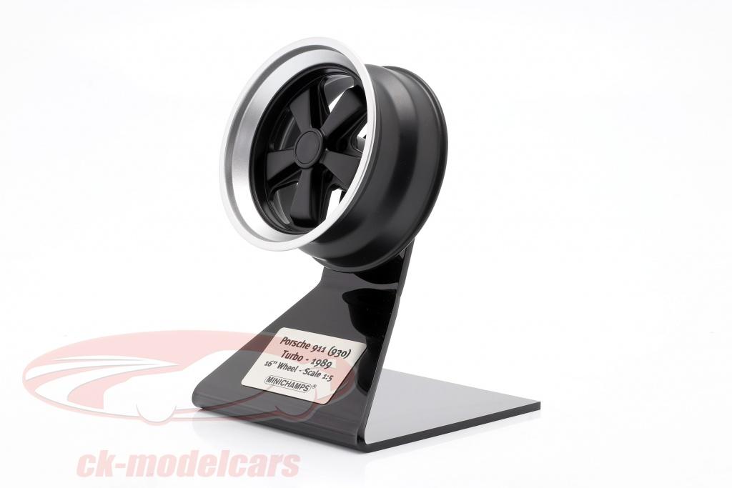 minichamps-1-5-porsche-911-930-turbo-wheel-rim-ano-de-construccion-1989-negro-plata-500601930/