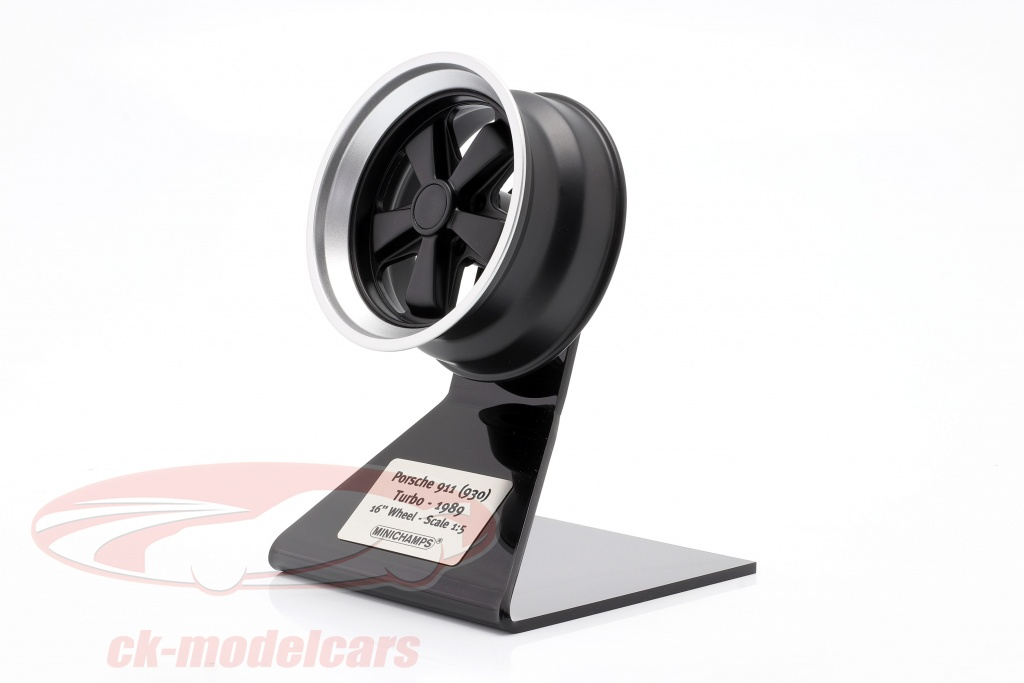 minichamps-1-5-porsche-911-930-turbo-wheel-rim-bygger-1989-sort-slv-500601930/