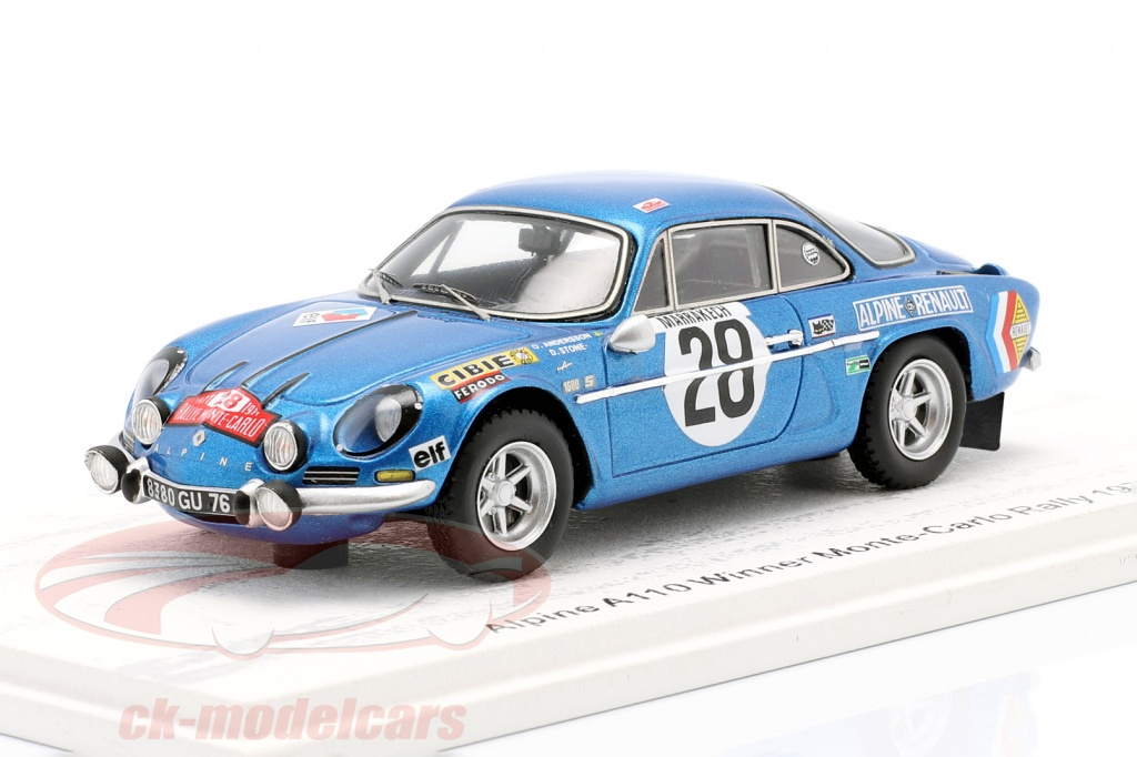 spark-1-43-alpine-a110-no28-sieger-rallye-monte-carlo-1971-andersson-stone-s6104/