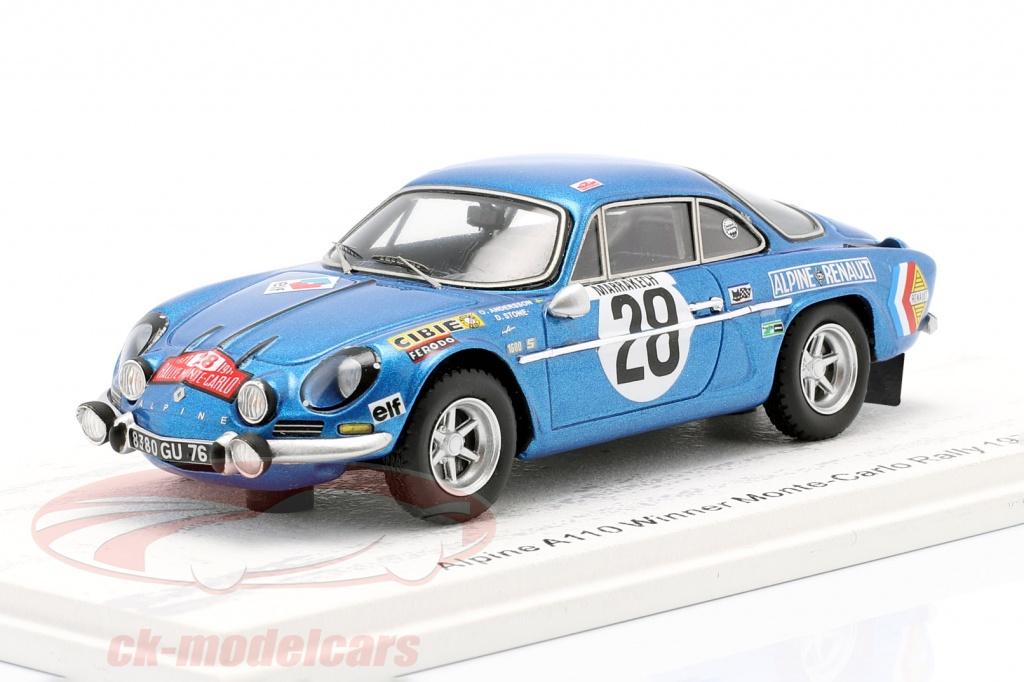 spark-1-43-alpine-a110-no28-vinder-rallye-monte-carlo-1971-andersson-stone-s6104/