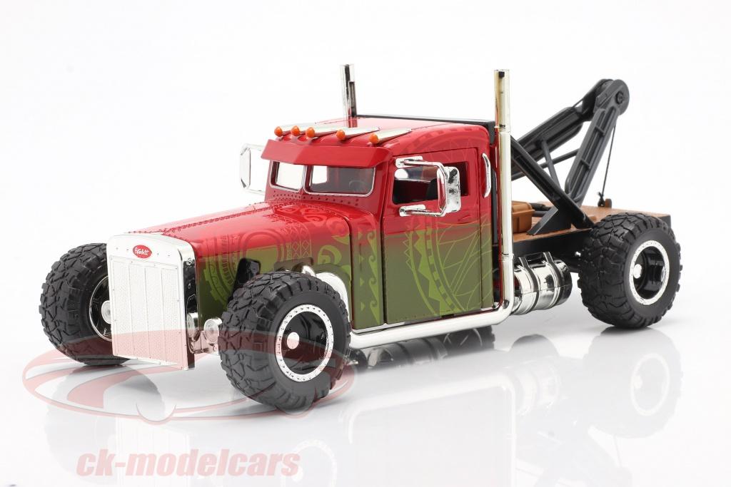 jadatoys-1-24-custom-peterbilt-slepen-vrachtwagen-fast-furious-hobbs-shaw-2019-253203063/
