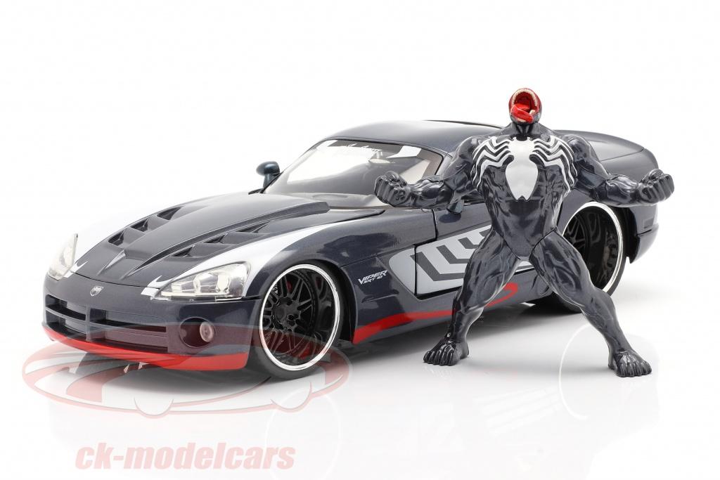 jadatoys-1-24-dodge-viper-anno-di-costruzione-2008-con-figura-venom-marvel-spiderman-253225015/
