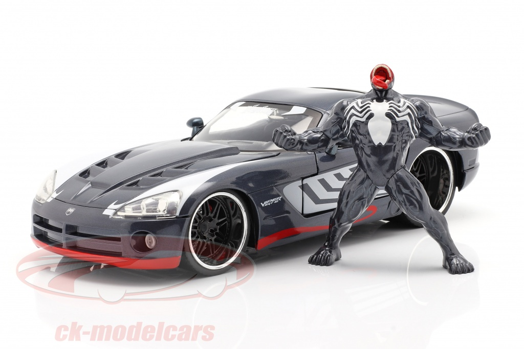 jadatoys-1-24-dodge-viper-baujahr-2008-mit-figur-venom-marvel-spiderman-253225015/