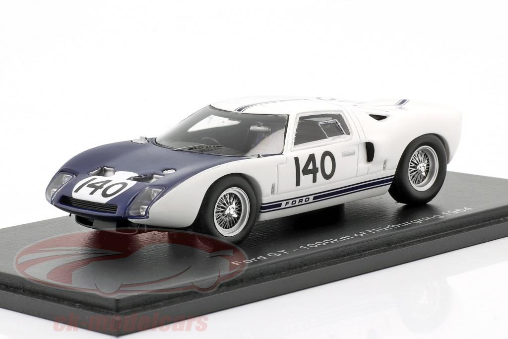 spark-1-43-ford-gt40-no140-1000km-nuerburgring-1964-hill-mclaren-s7954/