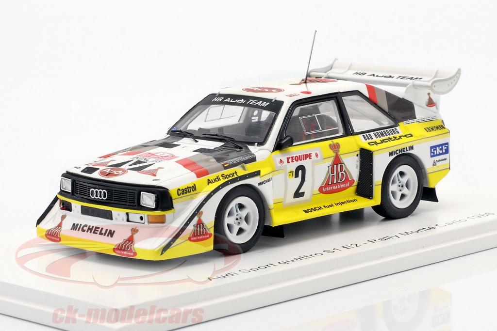 spark-1-43-audi-quattro-s1-no2-cuarto-rallye-monte-carlo-1986-roehrl-geistdoerfer-s5190/