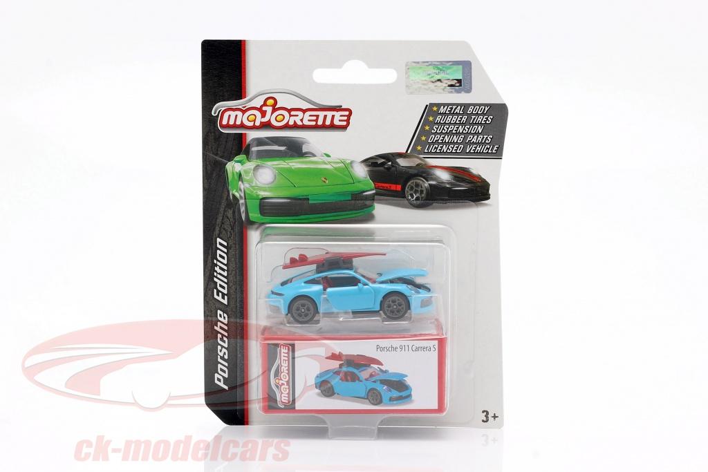 majorette-1-64-porsche-911-s-coupe-con-tavola-da-surf-azzurro-ck62869/