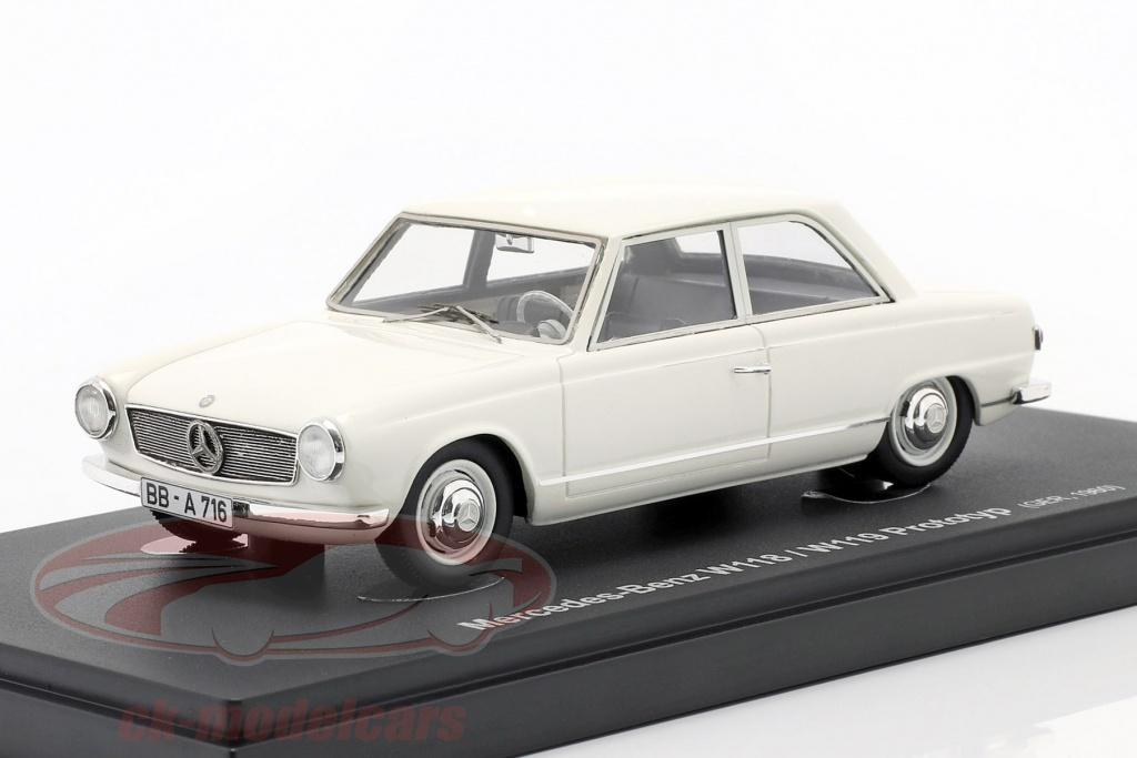 autocult-1-43-mercedes-benz-w118-w119-prototype-bygger-1960-hvid-60048/