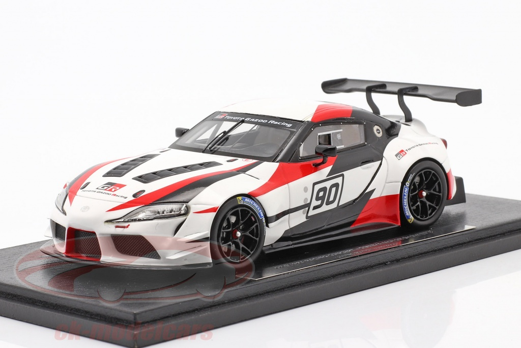 spark-1-43-toyota-gr-supra-racing-concept-car-no90-geneve-motor-at-vise-2018-ty13143s/