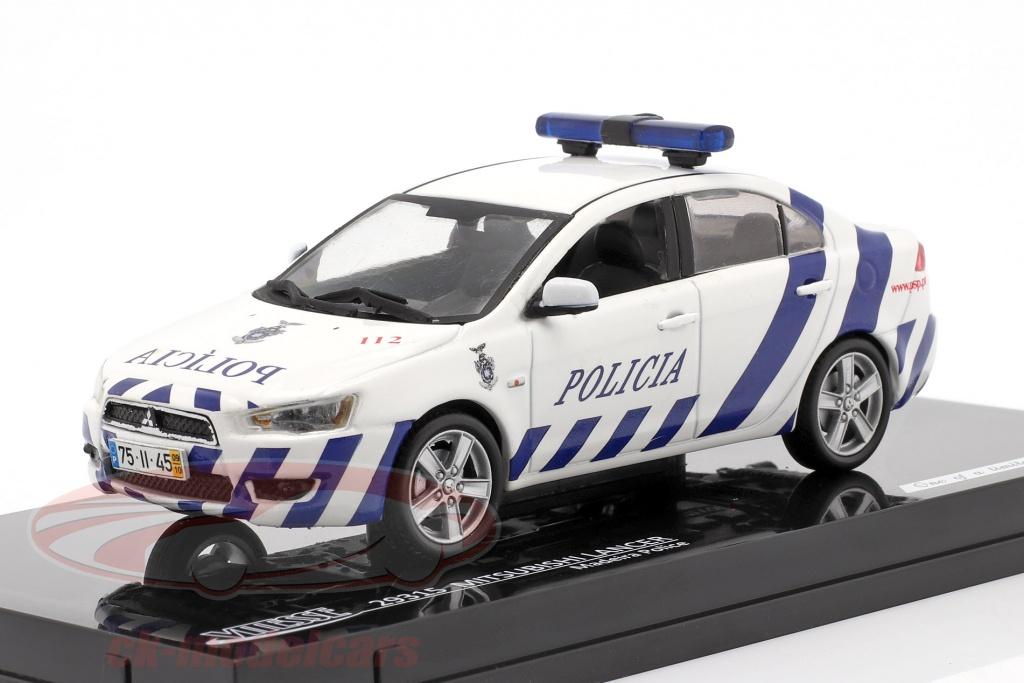 vitesse-1-43-mitsubishi-lancer-polizei-madeira-baujahr-2010-weiss-blau-29315/