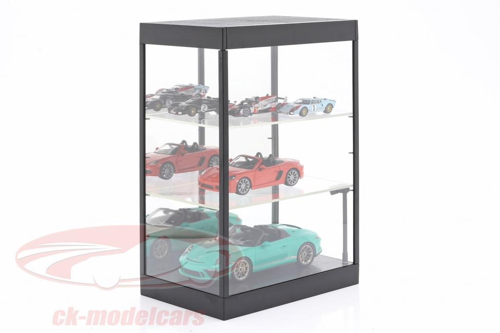 vitrine-unique-avec-eclairage-led-et-miroir-pour-echelle-1-18-1-24-1-43-noir-triple9-t9-69927mbk/