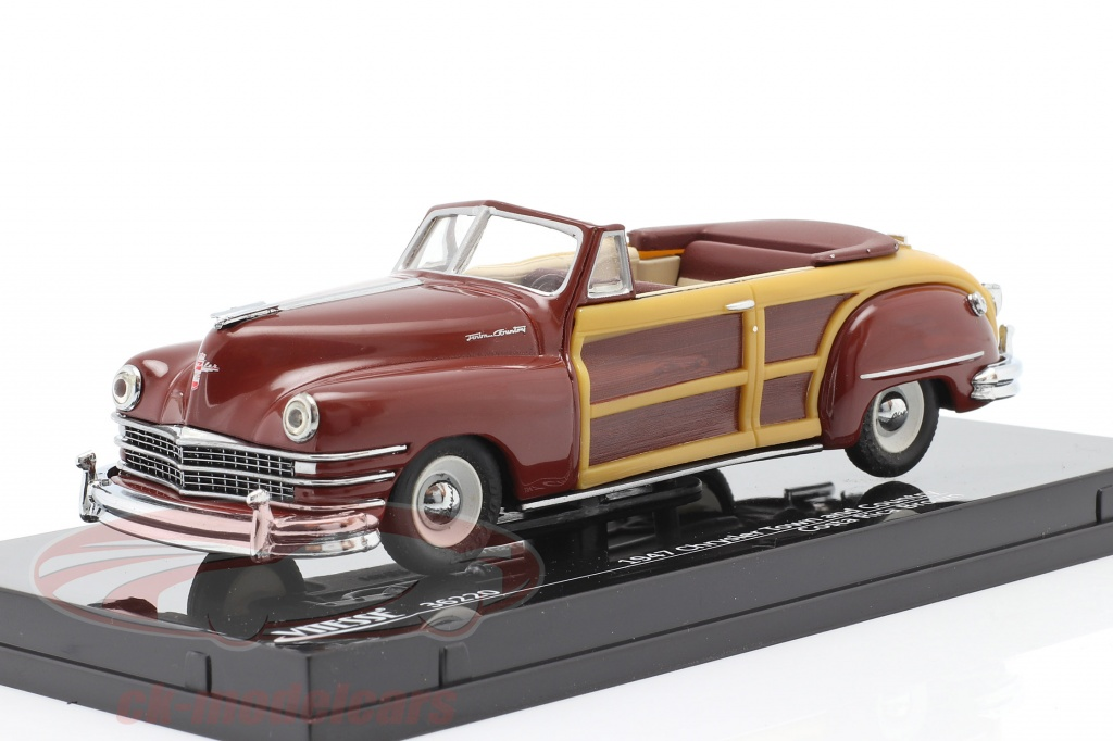 vitesse-1-43-chrysler-town-and-country-anno-1947-costa-rica-marrone-36220/