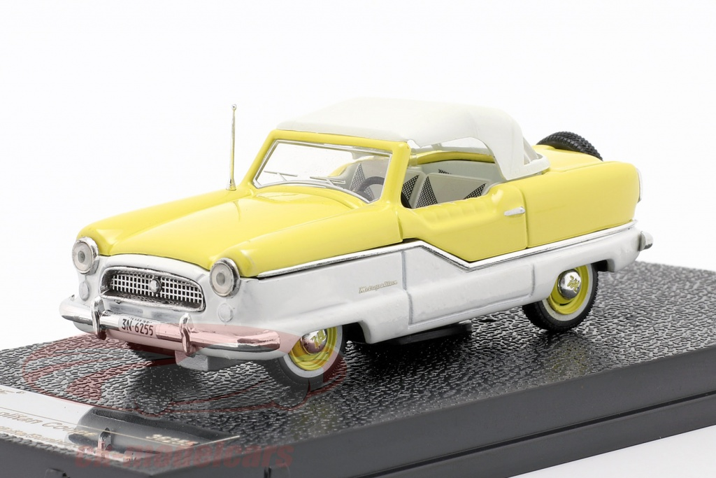 vitesse-1-43-nash-metroplitan-coupe-r-1959-hvid-gul-36255/