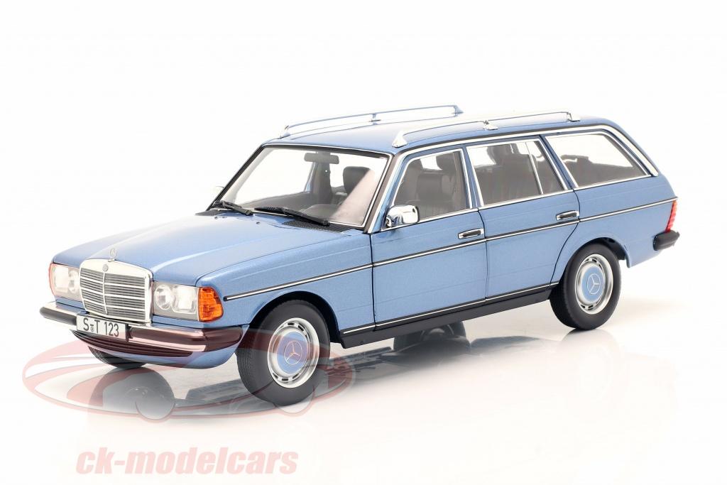 norev-1-18-mercedes-benz-200-t-modell-s123-year-1980-1985-diamond-blue-b66040671/