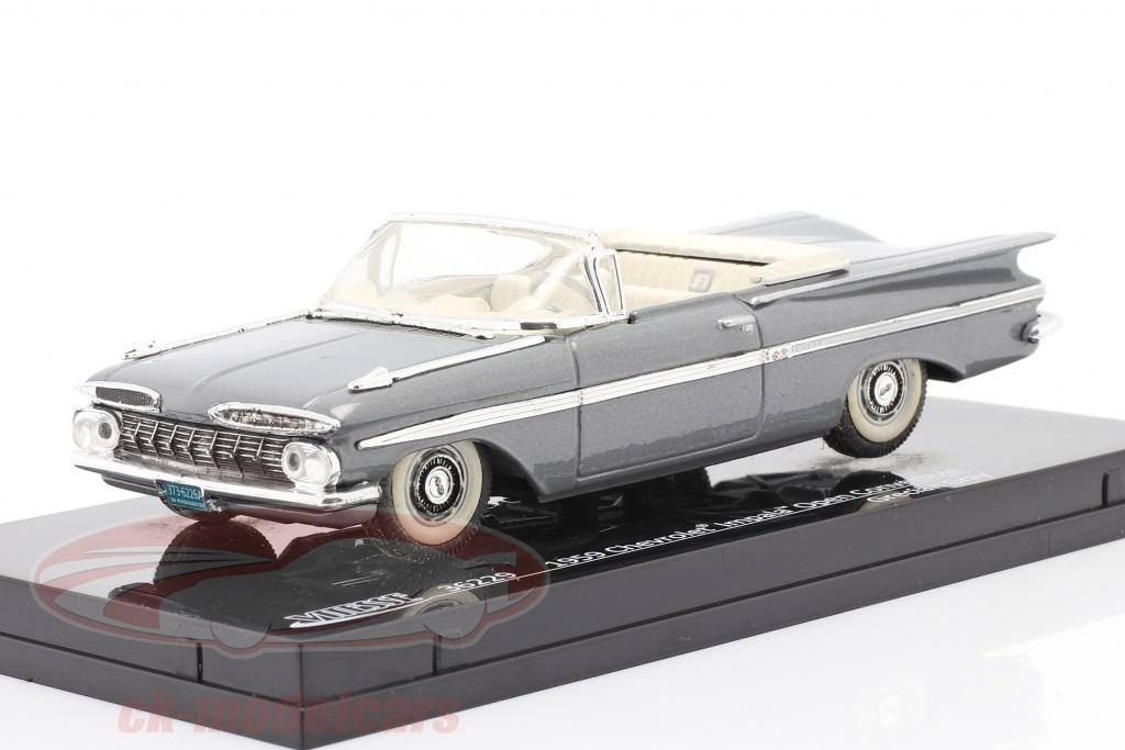 vitesse-1-43-chevrolet-impala-open-convertible-anno-1959-grigio-36229/