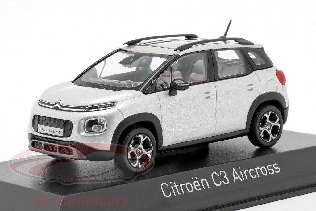 norev-1-43-citroen-c3-aircross-year-2017-cosmic-silver-155332/