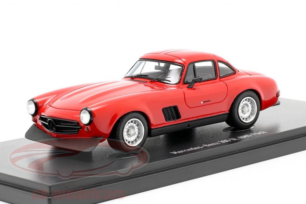 autocult-1-43-mercedes-benz-300-sl-gullwing-amg-flick-1974-red-90060/