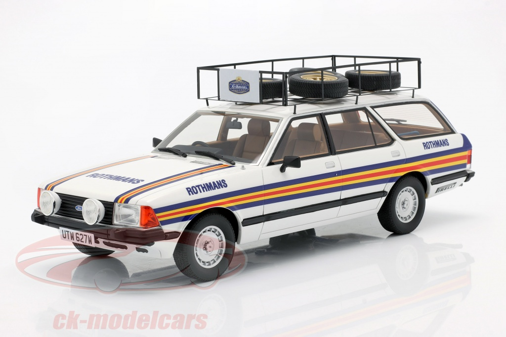 premium-classixxs-1-18-ford-granada-turnier-mk-ii-rhd-rothmans-rallye-team-1981-pcl30110/