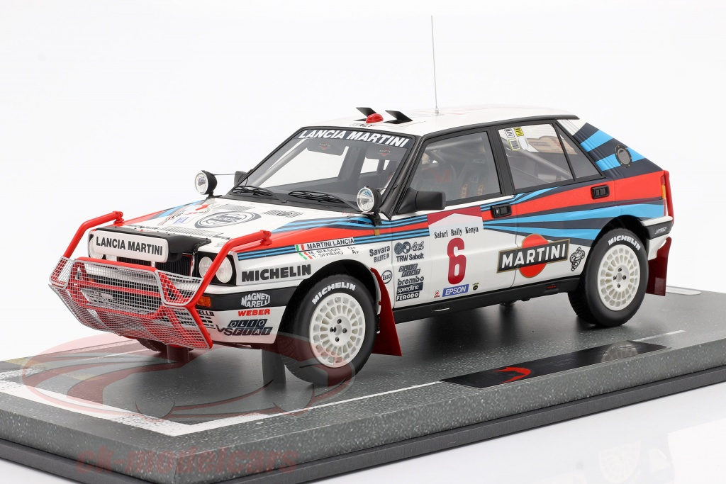 bbr-models-1-18-lancia-delta-integrale-hf-no6-winner-safari-rallye-1988-bision-siviero-bbrc1837/