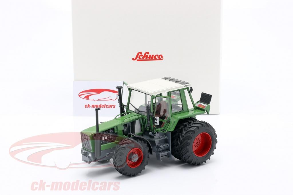 John Deere 4850 mit Doppelbereifung Traktor 1983-1988 Modellauto 1:32 Schuco
