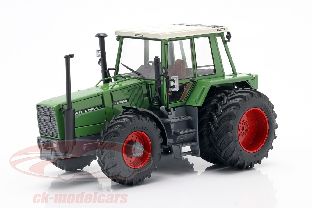 schuco-1-32-fendt-favorit-626-lsa-trattore-con-doppi-pneumatici-1981-1985-verde-450781400/