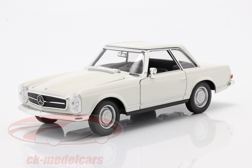 welly-1-24-mercedes-benz-230-sl-w113-hardtop-year-1963-white-24093cr/
