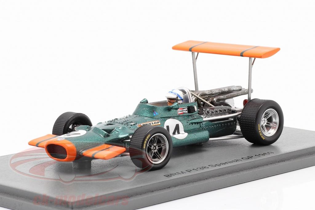 spark-1-43-john-surtees-brm-p138-no14-5e-espagnol-gp-formule-1-1969-s5705/