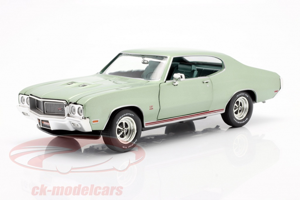 autoworld-1-18-buick-grand-sport-455-hardtop-annee-de-construction-1970-brume-de-mer-vert-amm1149/