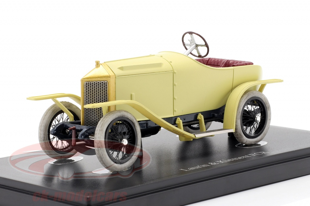 autocult-1-43-laurin-klement-fcr-year-1909-beige-cream-yellow-01012/