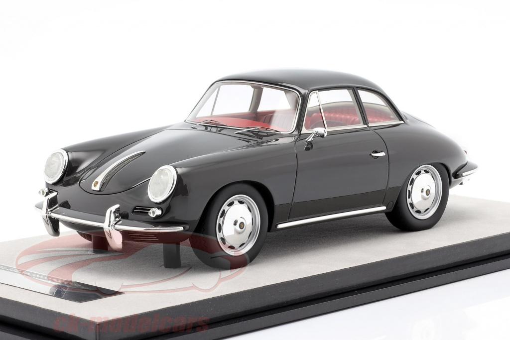 tecnomodel-1-18-porsche-356-karmann-dur-haut-an-1961-brillant-sombre-gris-tm18-143a/