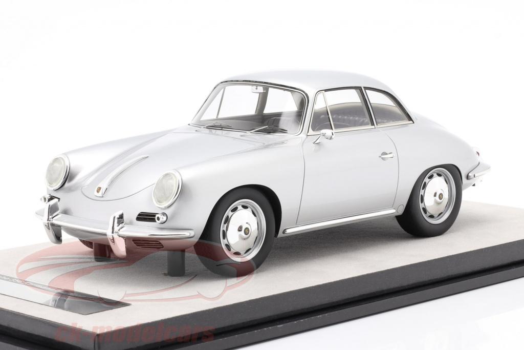 tecnomodel-1-18-porsche-356-karmann-hardtop-jaar-1961-zilver-metalen-tm18-143d/