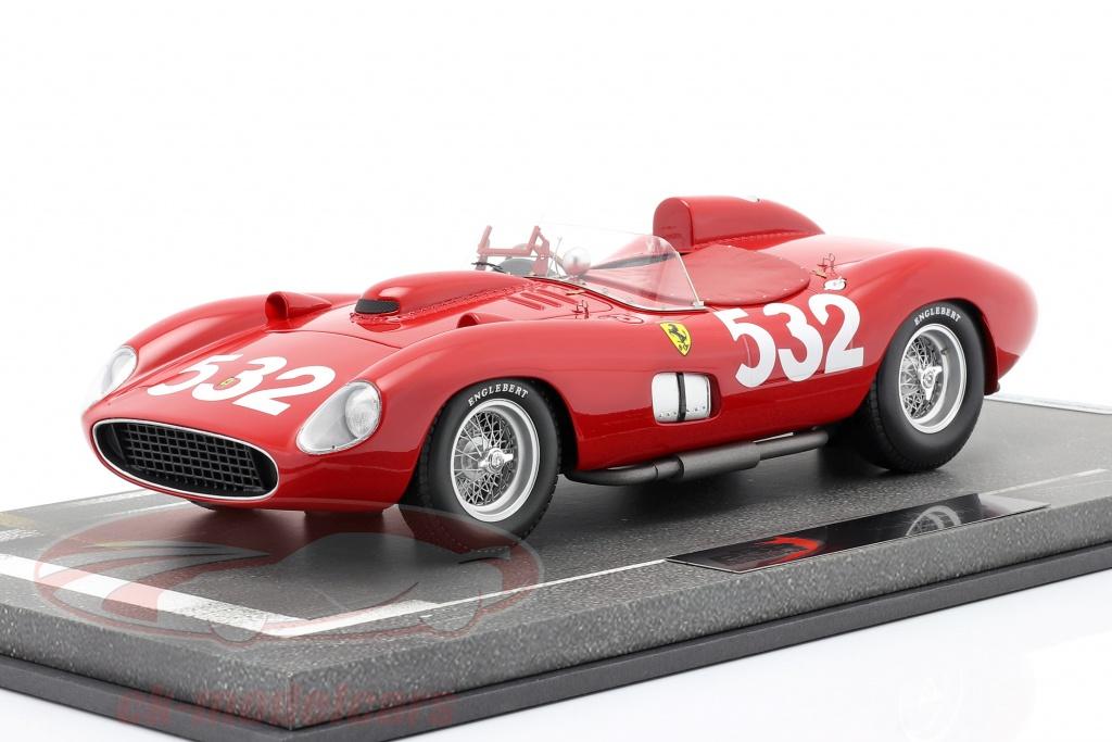 bbr-models-1-18-ferrari-315-sport-no532-2-plads-mille-miglia-1957-graf-berghe-von-trips-bbrc1807d/