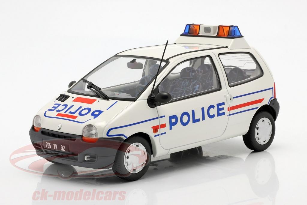 norev-1-18-renault-twingo-polizei-baujahr-1995-weiss-blau-185296/